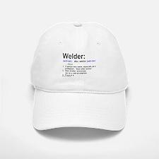 What's a welder Baseball Baseball Cap