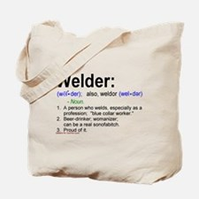 What's a welder Tote Bag