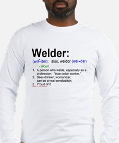 What's a welder Long Sleeve T-Shirt