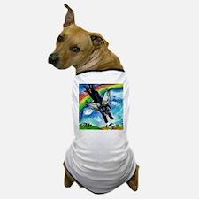 Black Labrador flys free Dog T-Shirt