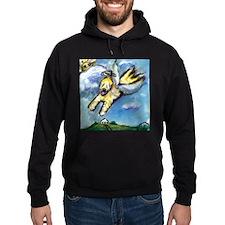 Wheaten terrier angel flys fr Hoodie