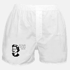 Don't judge me Boxer Shorts