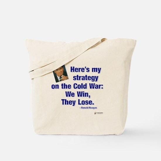 Reagan Cold War Tote Bag