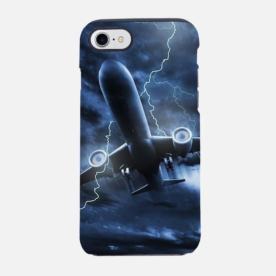 Airplane Lightning iPhone 7 Tough Case