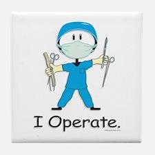 BusyBodies Surgeon Tile Coaster