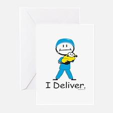 OB Doctor / Nurse Greeting Cards (Pk of 10)