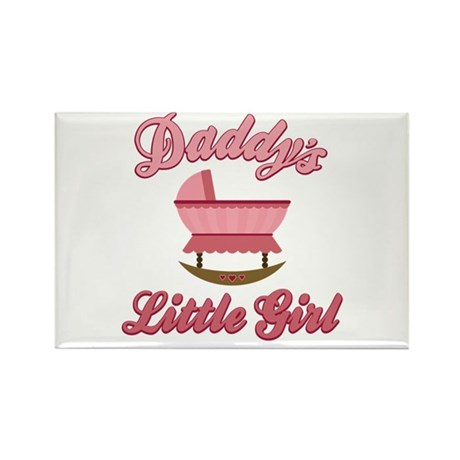 Daddy's Little Girl Rectangle Magnet (10 pack)