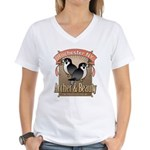 Archer & Beauty Women's V-Neck T-Shirt