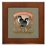 Archer & Beauty Framed Tile