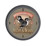 Archer & Beauty Wall Clock