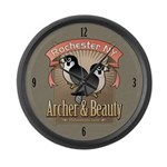 Archer & Beauty Large Wall Clock