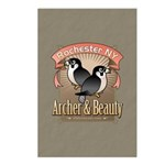 Archer & Beauty Postcards (Package of 8)