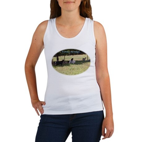Great Pyrenees Protect And Defend Women's Tank Top