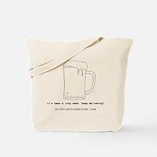 beer me Tote Bag