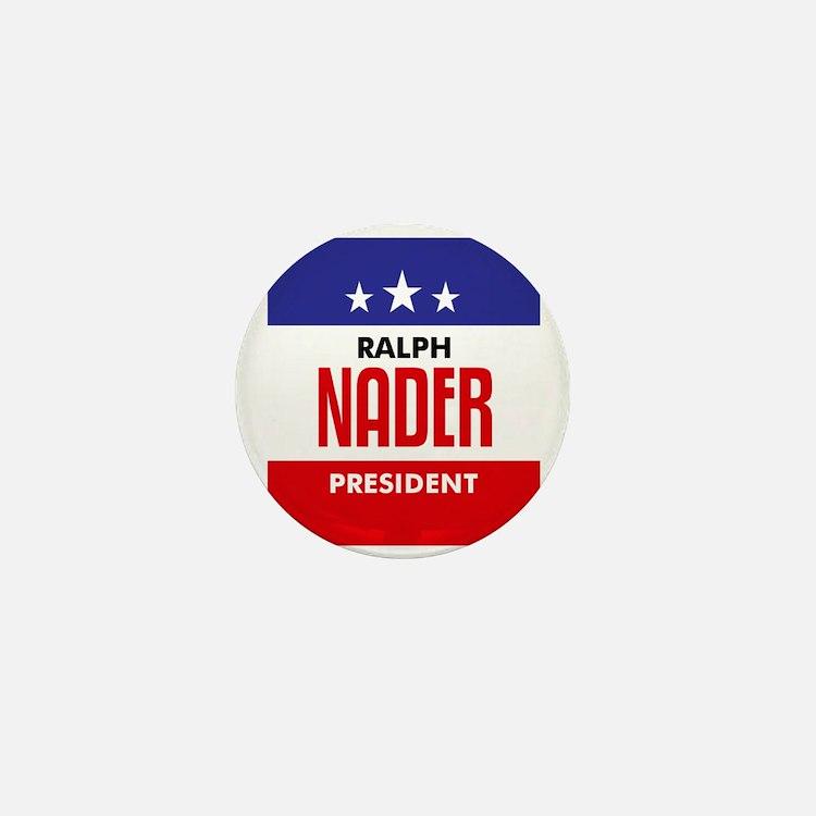 Nader 08 Mini Button