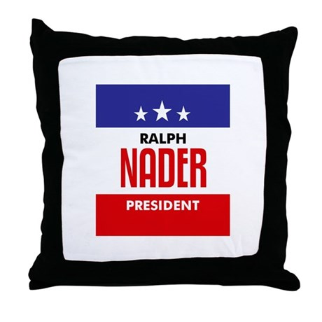 Nader 08 Throw Pillow