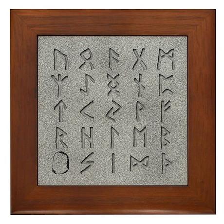 Make Your Own Decorative Rune Stones