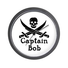 Captain Bob Wall Clock