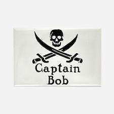 Captain Bob Rectangle Magnet