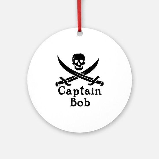 Captain Bob Ornament (Round)