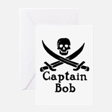 Captain Bob Greeting Card