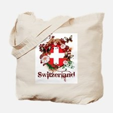 Butterfly Switzerland Tote Bag