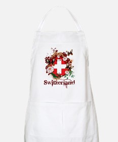 Butterfly Switzerland BBQ Apron