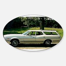 1973 Ford Gran Torino Oval Decal