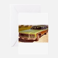 1976 Chevy Caprice Greeting Card