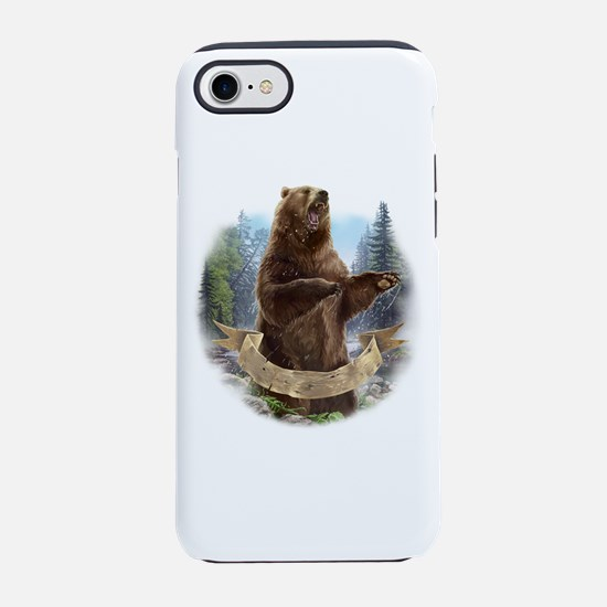 Grizzly Bear iPhone 7 Tough Case