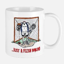 Lacrosse Goalie Fleshwound Mug