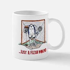 Lacrosse Goalie Fleshwound Small Small Mug