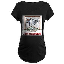 Lacrosse Goalie Fleshwound T-Shirt