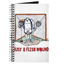 Lacrosse Goalie Fleshwound Journal
