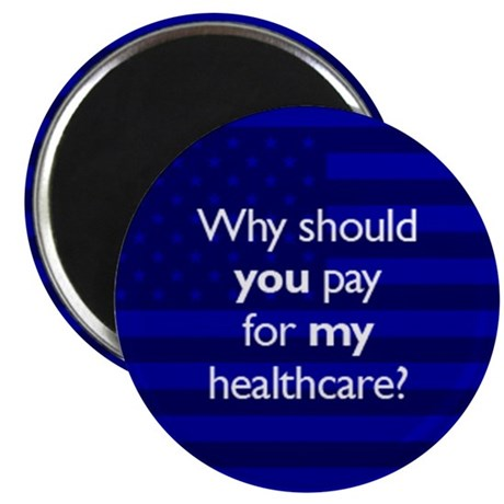 "Healthcare 2.25"" Magnet (100 pack)"