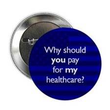 "Healthcare 2.25"" Button"