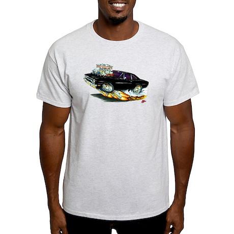 1970 Roadrunner Black Car Light T-Shirt