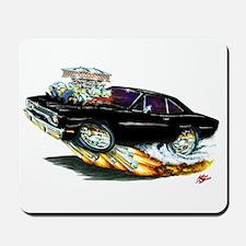 1970 Roadrunner Black Car Mousepad