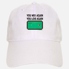 BILLIARD PLAYER T-SHIRTS Baseball Baseball Cap