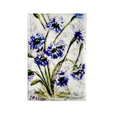 """""""Wild Flowers"""" Rectangle Magnet"""