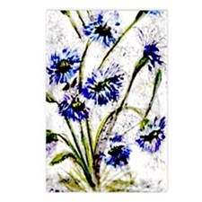 """""""Wild Flowers"""" Postcards (Package of 8)"""