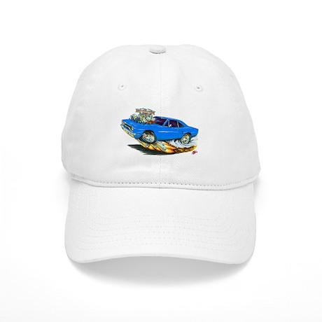 1970 Roadrunner Blue Car Cap