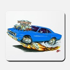 1970 Roadrunner Blue Car Mousepad