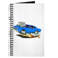 1970 Roadrunner Blue Car Journal