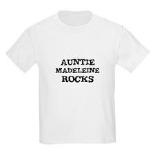 AUNTIE MADELEINE ROCKS Kids T-Shirt
