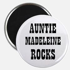 """AUNTIE MADELEINE ROCKS 2.25"""" Magnet (10 pack)"""