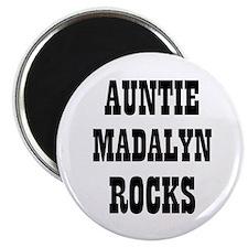 """AUNTIE MADALYN ROCKS 2.25"""" Magnet (10 pack)"""