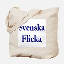 Svenska Flicka Tote Bag