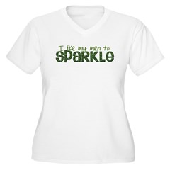 I Like my Men to SPARKLE 2 T-Shirt