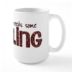 Scrapbook Bling Mug